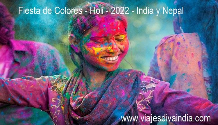 Fiesta de colores India