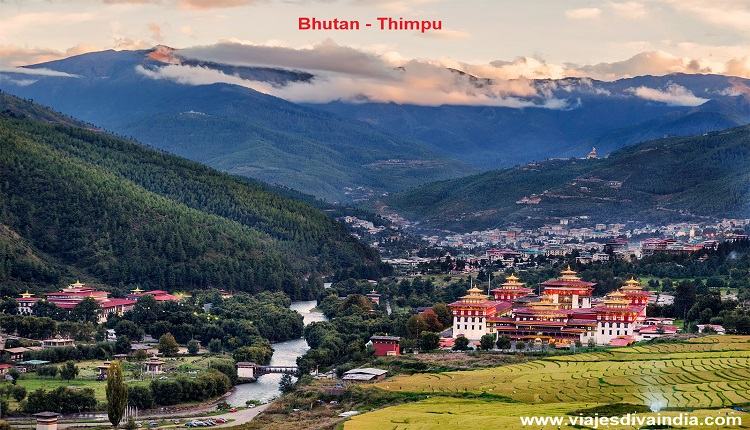 Bhutan Thimphu capital