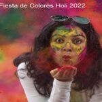 Fiesta de colores Holi 2022